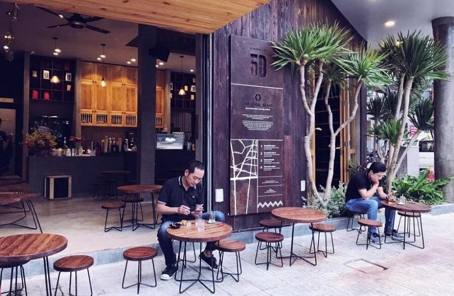 địa điểm mở quán cà phê nguyên chất